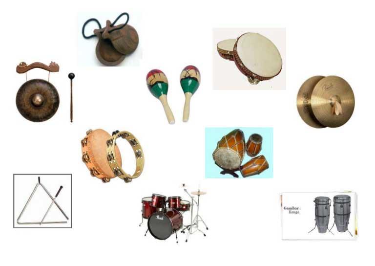 Mengenal Alat Musik Ritmis Jenis Contoh Dan Fungsinya